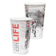 Pahar din carton 16OZ (400ML)City Life