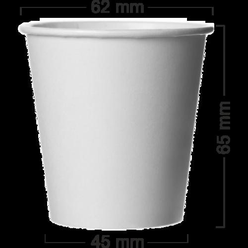 Pahar alb din carton 100 ml(4OZ)