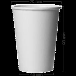 Pahar alb din carton 180ml(7oz)