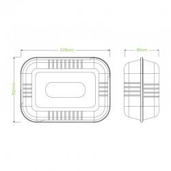 Caserola BIO 1 Compartiment B031