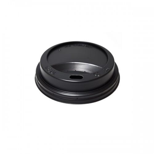 Capac din plastic 180ml (7OZ) Negru