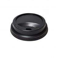 Capac din plastic 250ml-330ml (8oz-12ozV) Negru