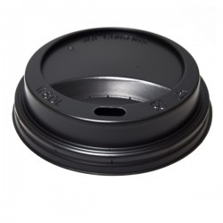 Capac din plastic 350-400-500 ML (12-16-220Z) NEGRE
