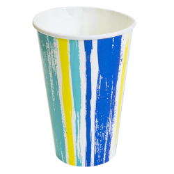 Pahar carton 400 ml Stripes