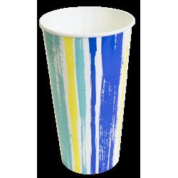 Pahar carton 500 ml Stripes