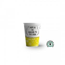 Pahar din carton 7OZ (180ml)  Happy Cups