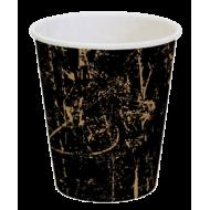 """Pahar carton 8OZ (250ml) """"KRAFT GRUNGE"""""""