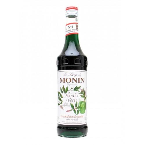Sirop MONIN Green Mint 0.7 cl