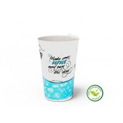 Pahar din carton 16OZ (400ml) Happy Cups