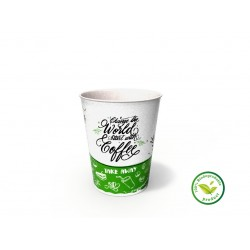 Pahare din carton 8OZ (250ml) Happy Cups