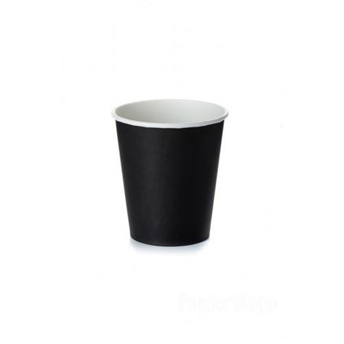 Pahar din carton 8OZ NEGRU (250ML)