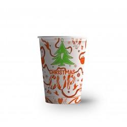 "Pahar carton "" Christmas "" 8OZ (250ML) Editie limitata"