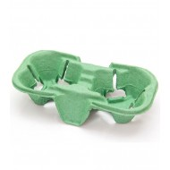 Suport pahar x2 Verde 150pcs/bax